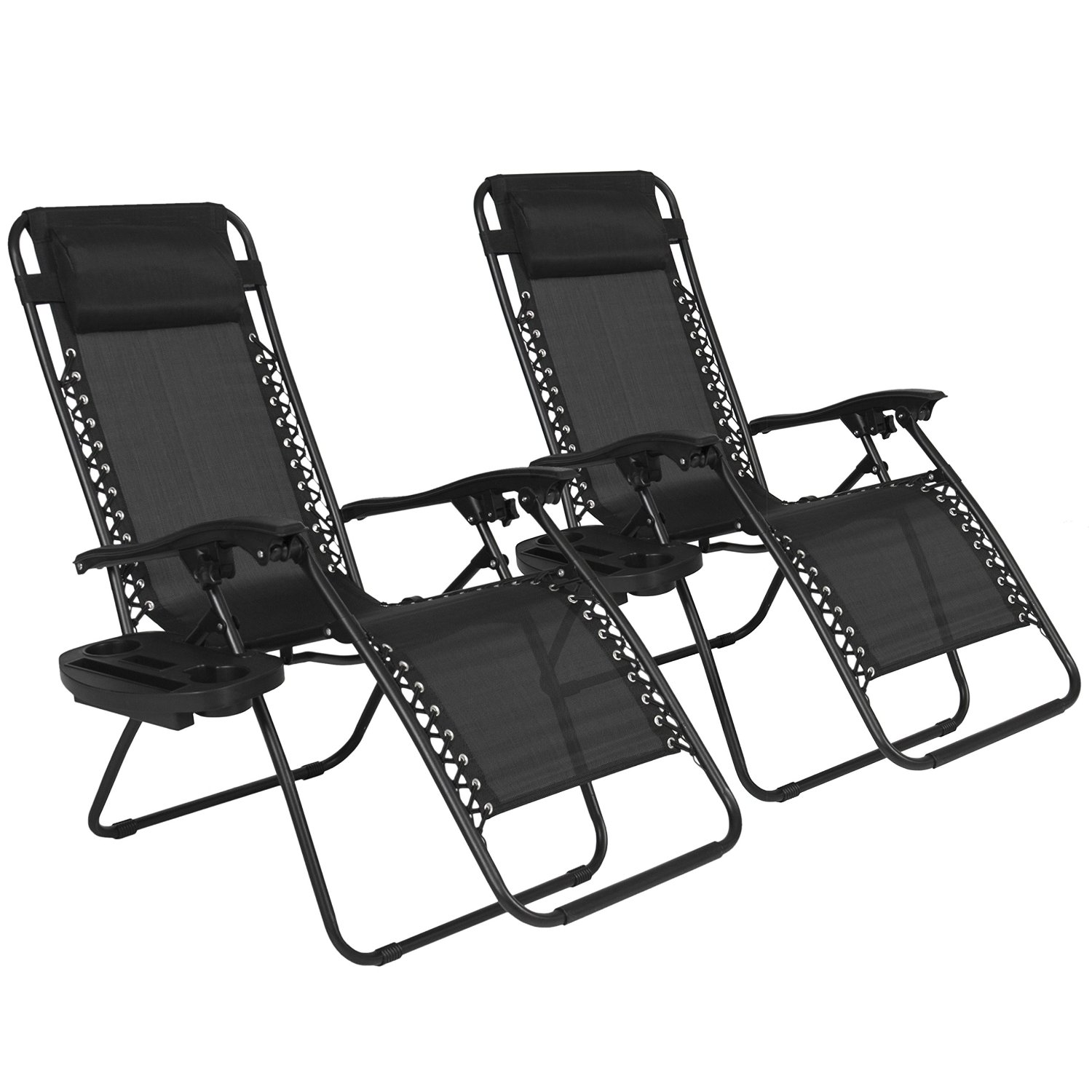Best Choice Products Zero Gravity Chairs Case Of 2 Black Lounge Chairs Outdoor  sc 1 st  Backyard Design And Party Planning & Our Review of the 10 Best Outdoor Recliners islam-shia.org