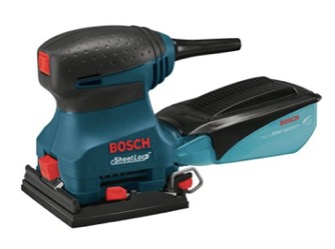 Bosch Orbital Finishing Sander with SheetLoc Paper Attachment System