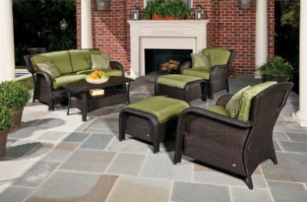 Hanover Strathmere 6-Piece Patio Seating Set