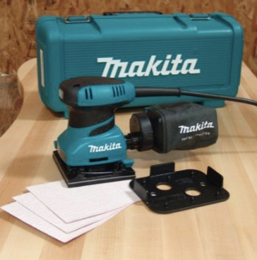 Makita Finishing Sander with Case review