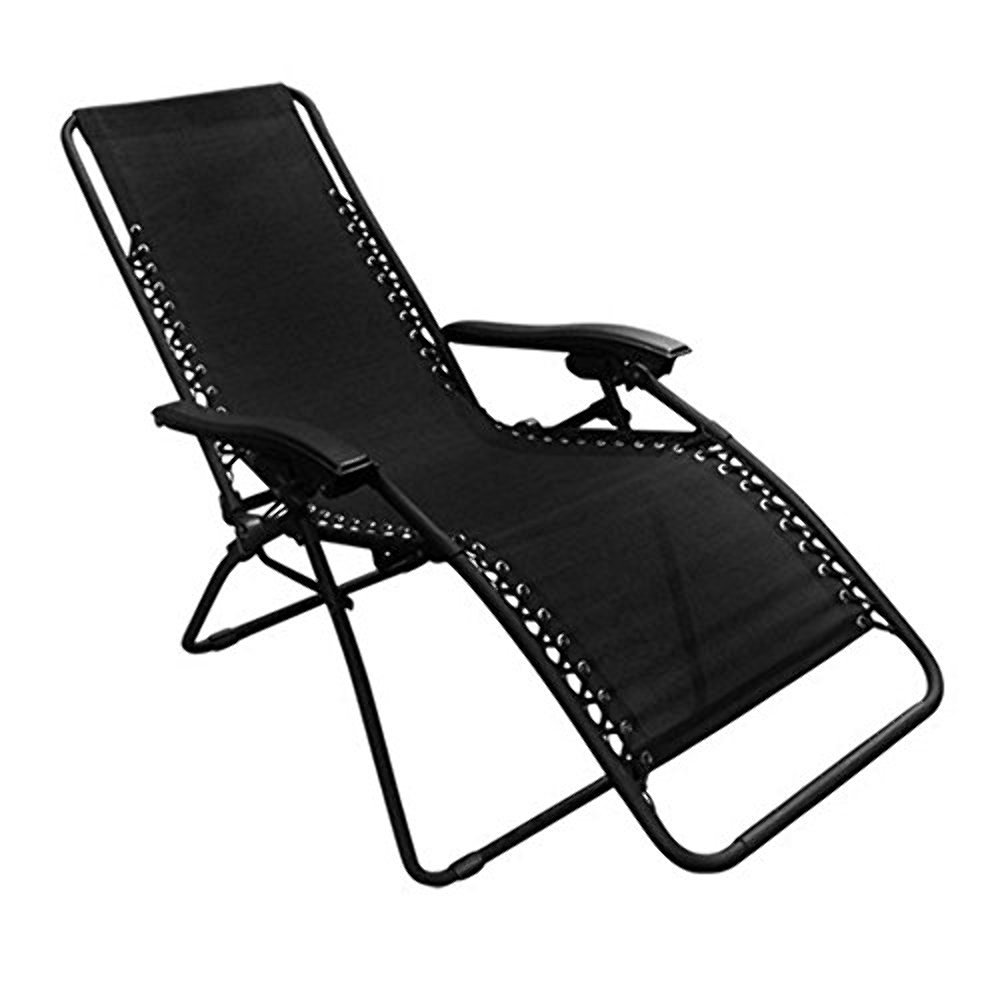 PARTYSAVING Outdoor Reclining Infinity Zero Gravity Chair