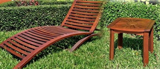acacia outdoor wood furniture