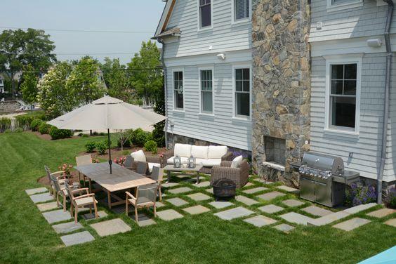 stepper stone patio