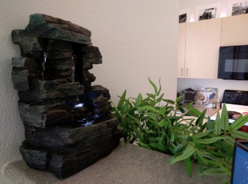 Alpine Waterfall Tabletop Fountain with LED Light Review