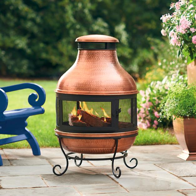 best copper chimineas