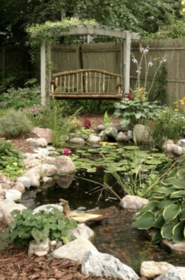 9 Small Backyard Pond Ideas on Small Garden Ponds Ideas id=93738