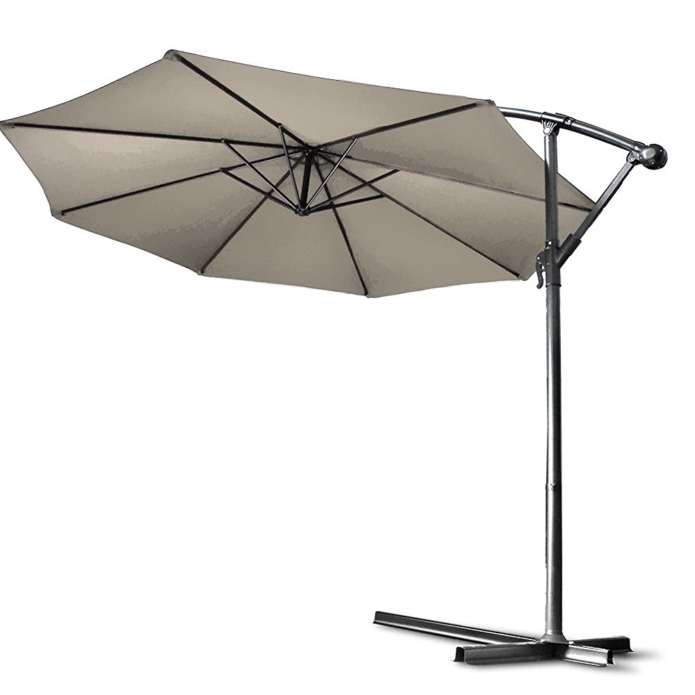 flexzion-patio-offset-umbrella-10-feet-beige-hanging-folding-sun-shade-crank-canopy
