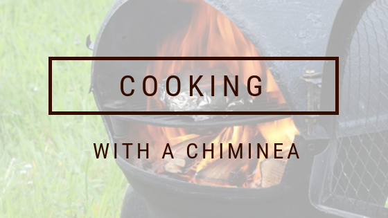 cooking with a chiminea rh thebackyardgnome com