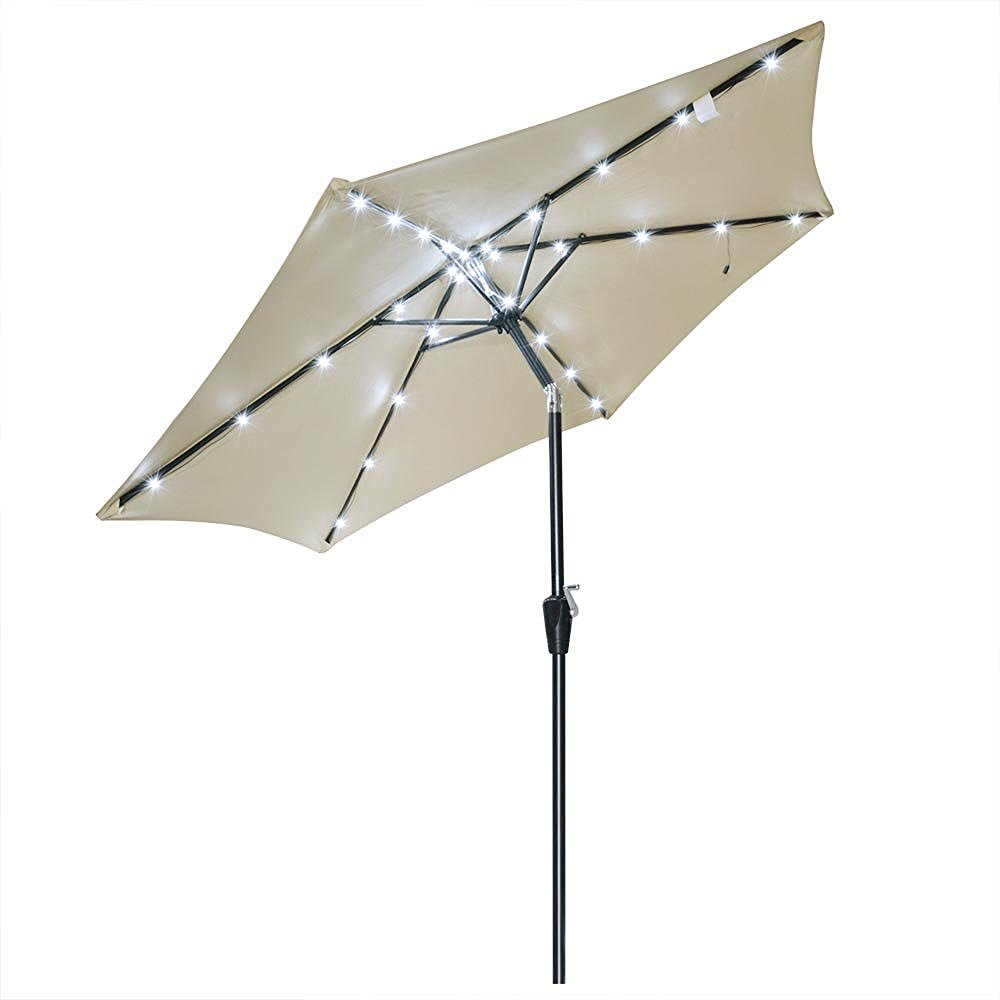 yescom-8ft-aluminum-tilted-outdoor-patio-beige-umbrella-w-30-cool-white-leds-for-gazebo