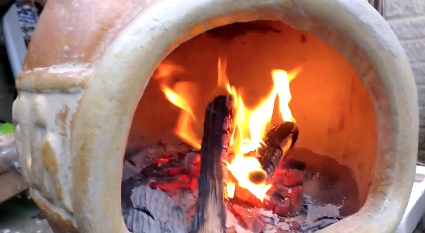 When You Light Your Fire If This Is A New Chiminea Should Start Off With Small Fires For The First Few Times And Then Build Way Up To