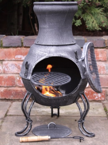 cooking-in-a-chiminea