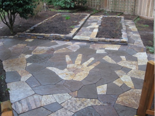 9 inspiring slate patio design ideas - Flagstone Patio Designs