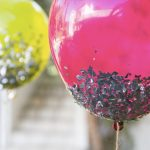 How To Make DIY Glitter-Dipped Balloons