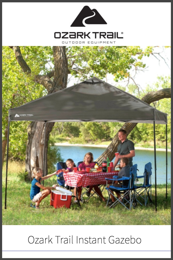 Ozark Trail Instant 10x10 Straight Leg Canopy Gazebo Review
