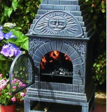 blue rooster chiminea review
