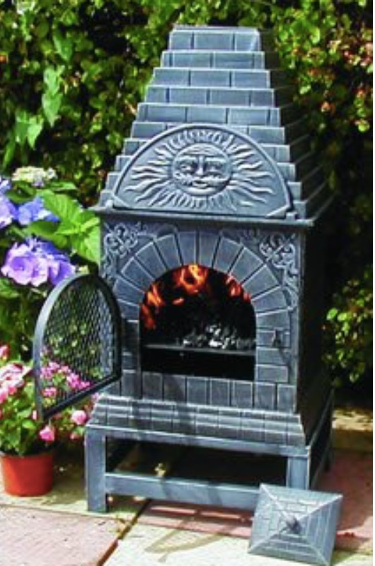 Good Blue Rooster Chiminea Review