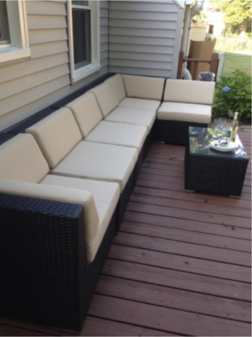 Ohana 7 Piece Wicker Patio Set Review