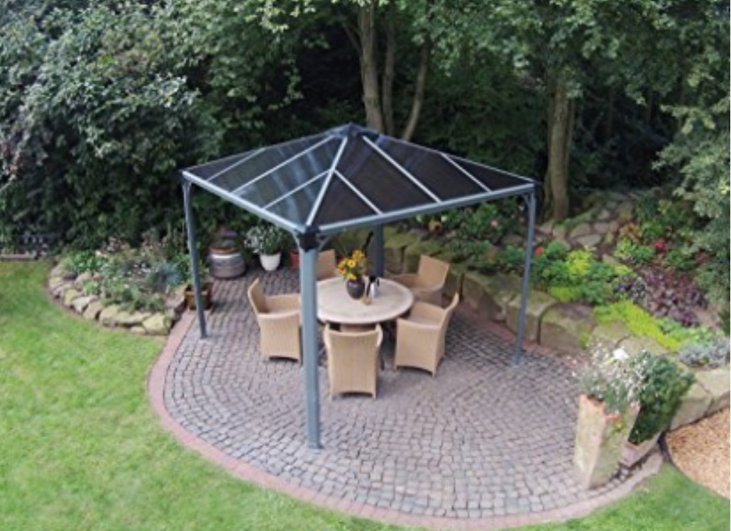 custom-built pergola gazebo sunshelter