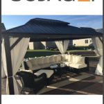 Sojag Messina Hard Top Gazebo Sun Shelter Review