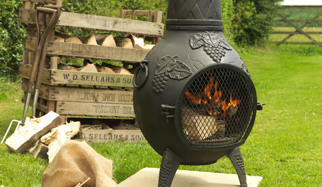 Backyard Firepit And Chiminea Safety