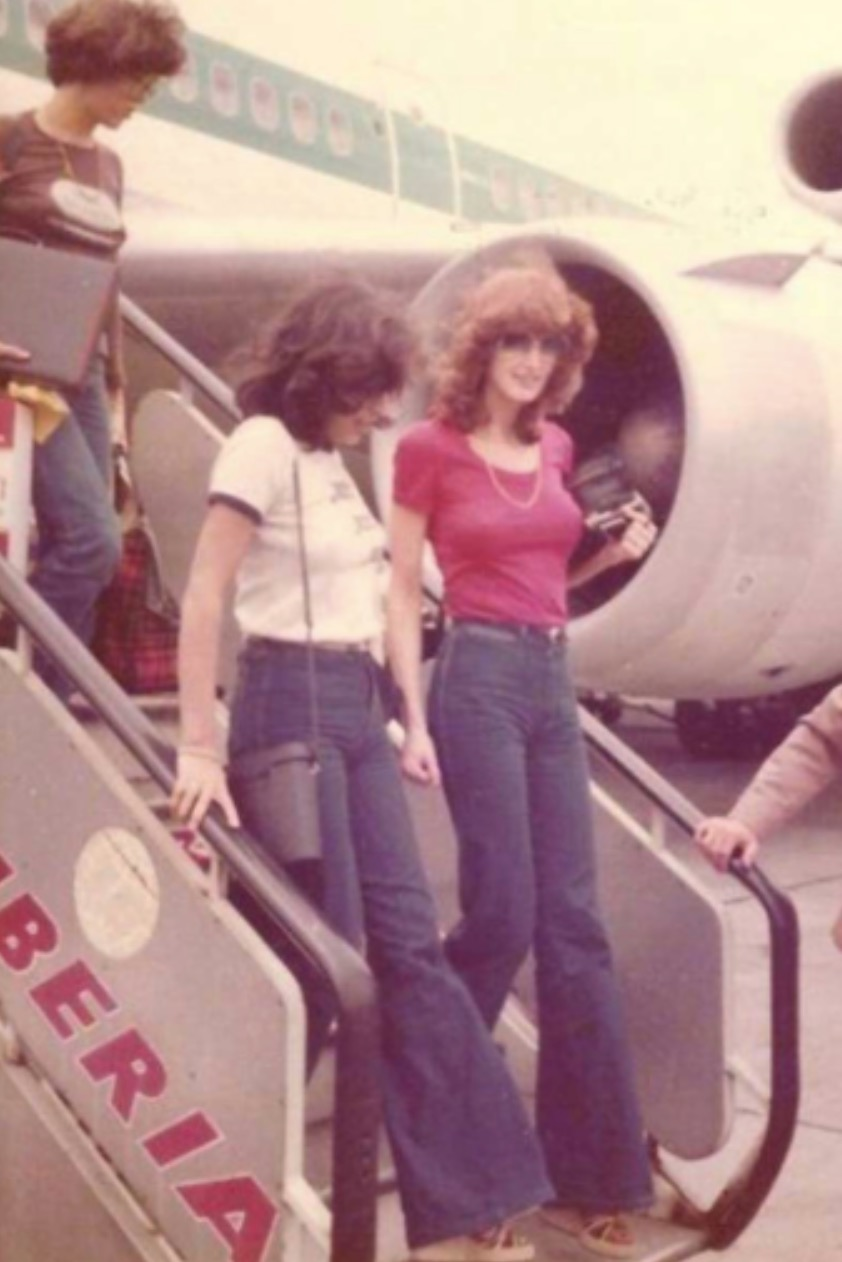 girls in the 70's