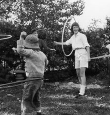 hula hooping craze