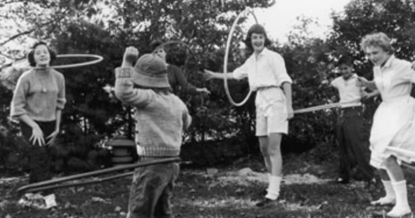 hula hooping craze