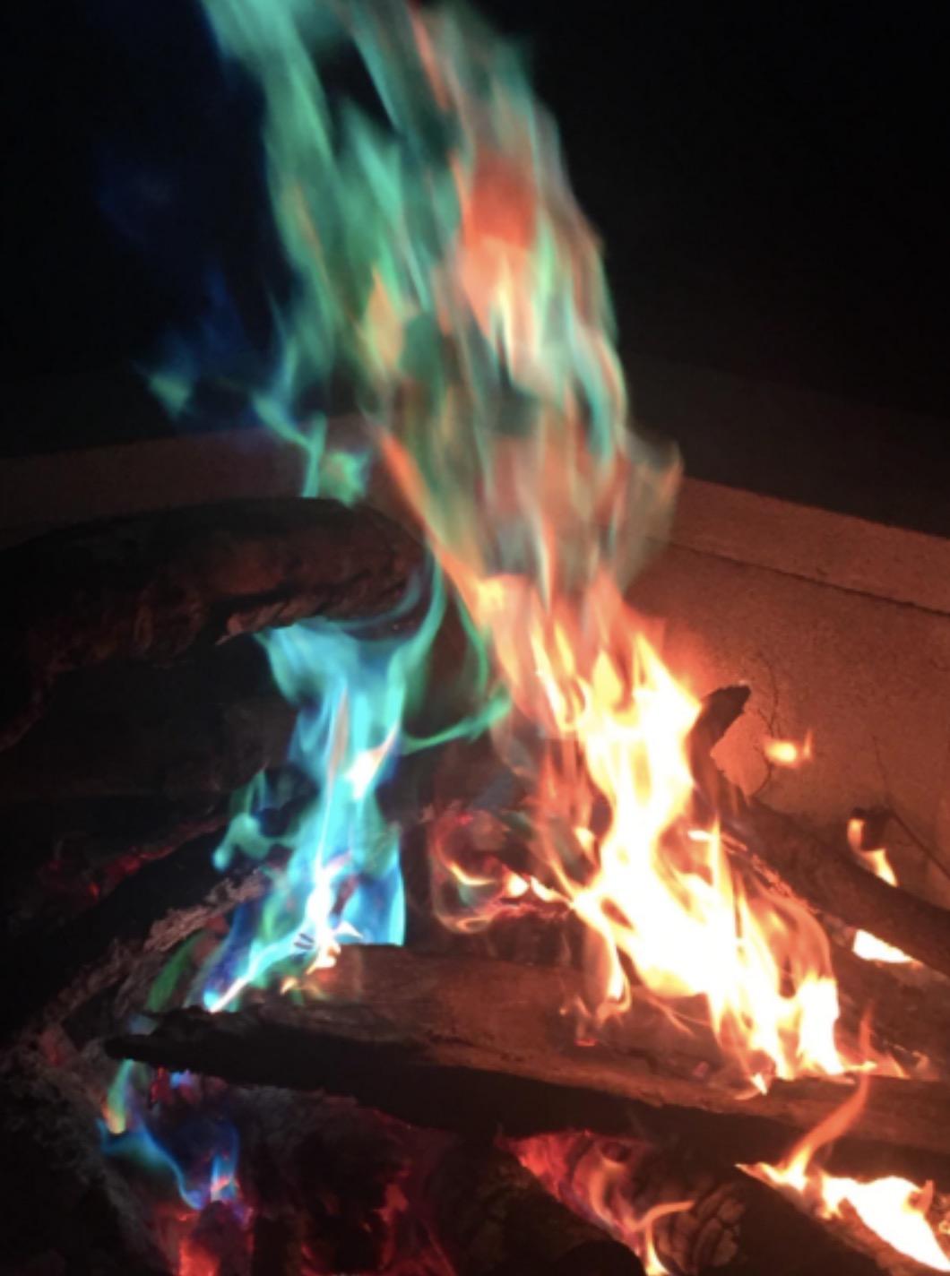 campfire colorant