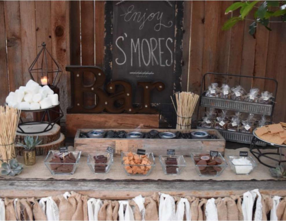 smores party