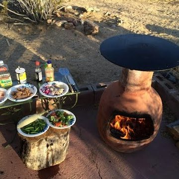 chiminea cookin food - guide_alibaba_com