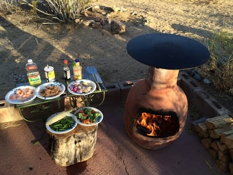 Elegant Chiminea Cookin Food   Guide_alibaba_com