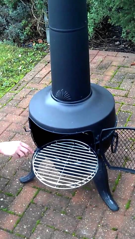 chiminea grill