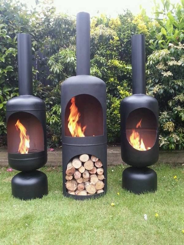 chimineas cast iron