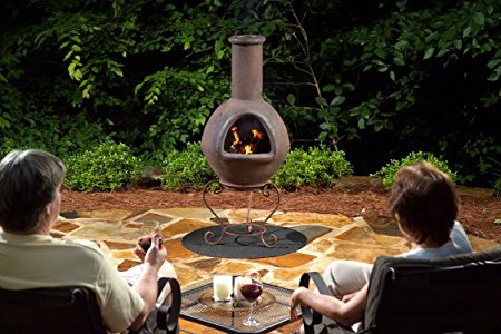 hanging out cooking chiminea