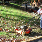 How To Mulch and Bag Leaves with a Lawnmower