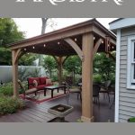 Yardistry Cedar Wood Gazebo Review
