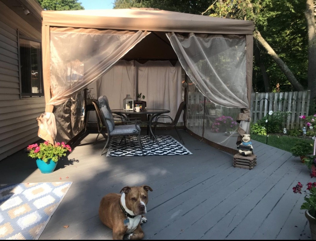 abba patio mosquito net gazebo