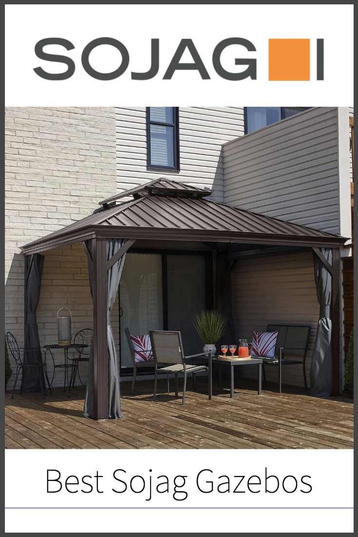 best sojag gazebos