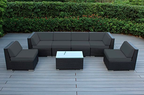 Ohana 7 Piece Outdoor Sectional Sofa