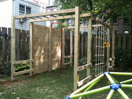 How to make your own jungle gym backyard design and decor