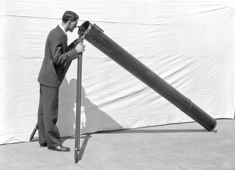 holcomb reflecting telescope