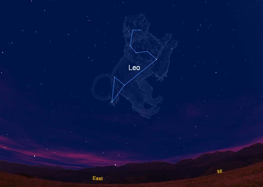 leo the lion constellation