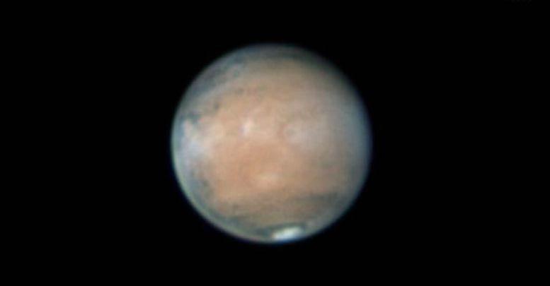 mars through telescope