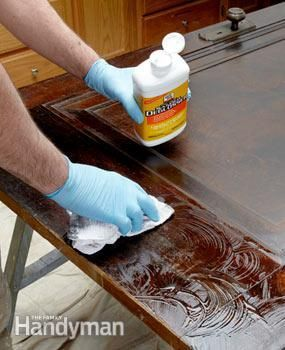 using liquid sandpaper