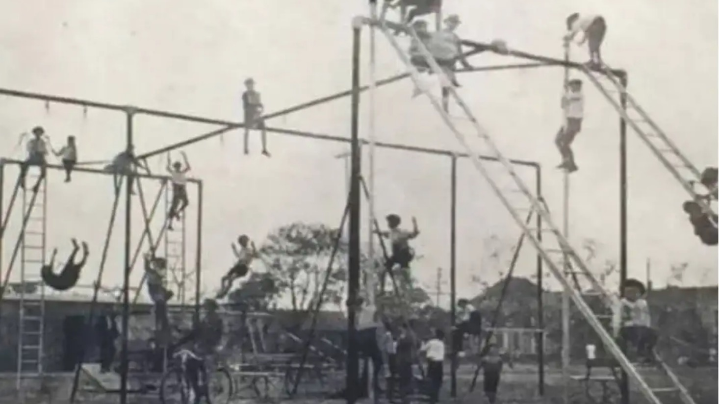 1900 jungle gym