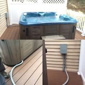 wiring 220v hot tub how to install a hot tub in your backyard  how to install a hot tub in your backyard