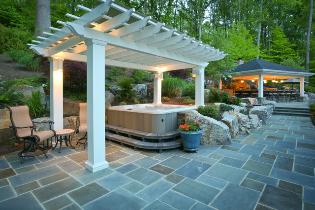 Of course, you won't get a lot of shelter under a pergola from the  elements, like wind, sun, or rain, but you may not want that, as the idea  is for it ... - What Is A Pergola And What Is It Used For?