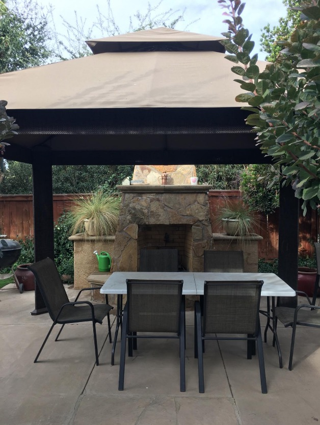 patio gazebo for shade sunbrella