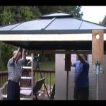 How to Replace A Canopy on A Gazebo – Hard and Soft Top