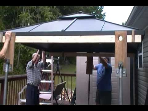 How To Replace A Canopy On Gazebo